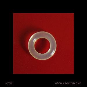 O-ring cao su silicone thực phẩm làm kín