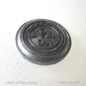 Con dấu tròn khắc chữ AC Ø30 x 6