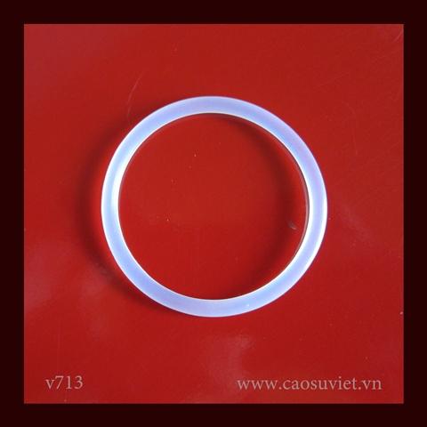 Đệm cao su o-ring silicone phù hợp thực phẩm