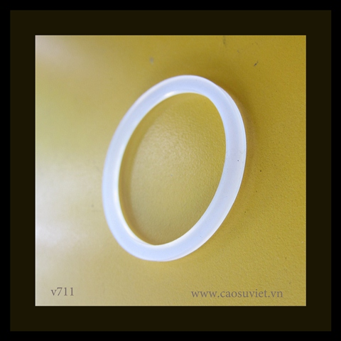 Đệm cao su o-ring silicone