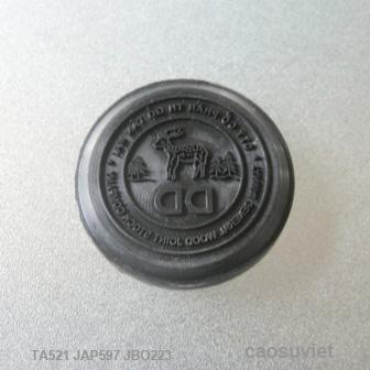 Con dấu tròn khắc chữ DD Ø30 x 6