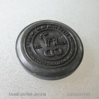 Con dấu tròn khắc chữ CD Ø30 x 6