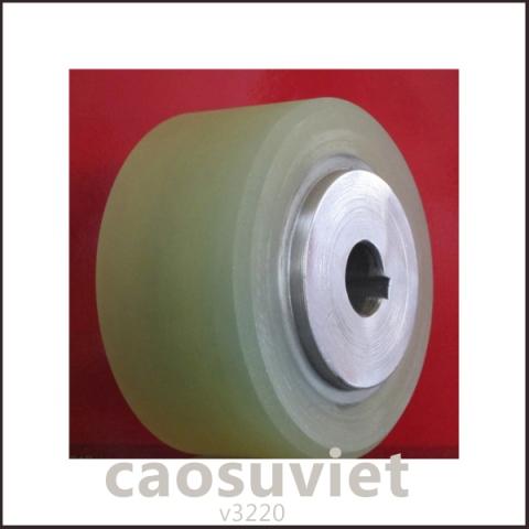 Đúc nhựa PU con lăn bánh xe | Viet Rubber